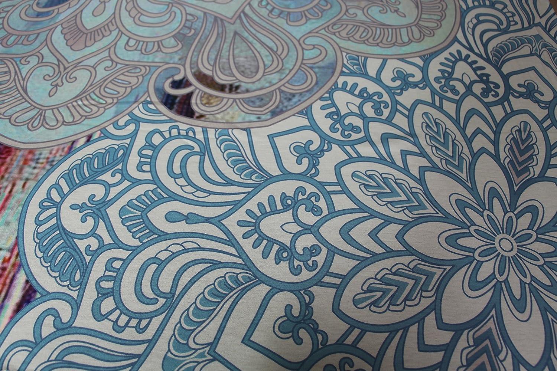 Goldbeing indischer Wandteppich Wandbehang Mandala Tuch Wandtuch Gobelin Tapestry Goa Indien Hippie-// Boho Stil als Dekotuch //Tagesdecke indisch orientalisch psychedelic 150 x 130cm, Style 10