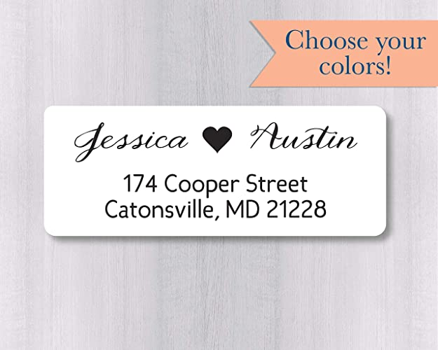 amazon com 60ct wedding invitation return address labels wedding