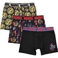 Marvel - Calzoncillos de Calzones Deportivos para niño (3 Unidades)