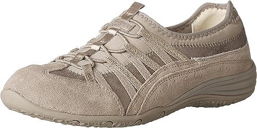 Skechers suède sneakers taupe | wehkamp