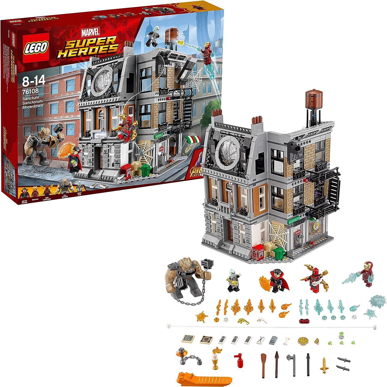 LEGO 76108 Super Heroes Avengers Set la Resa dei Conti al Sanctum Sanctorum
