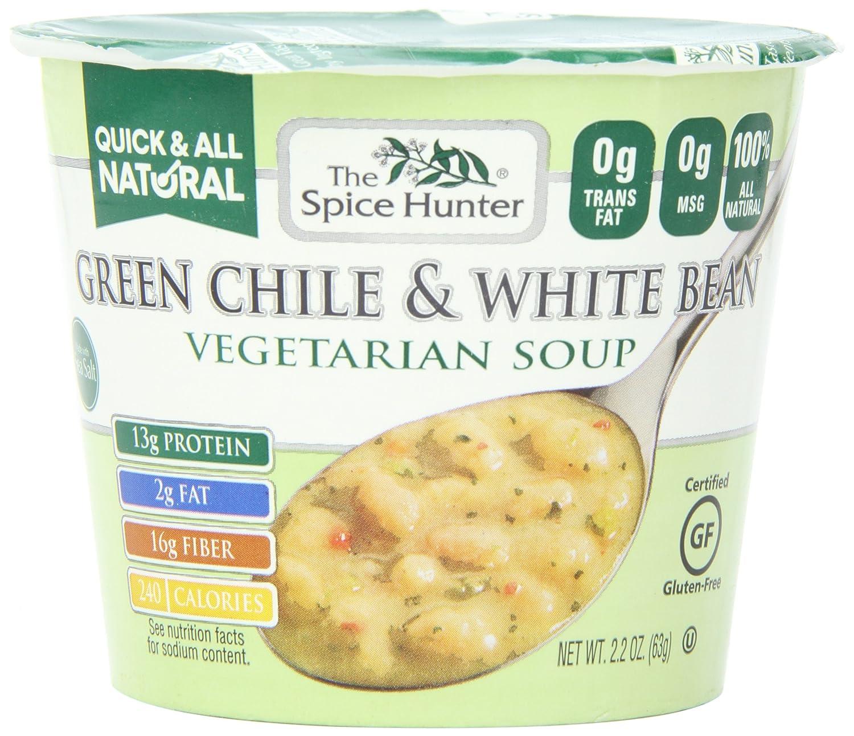Amazon.com : The Spice Hunter Green Chile & White Bean, Veg Soup ...