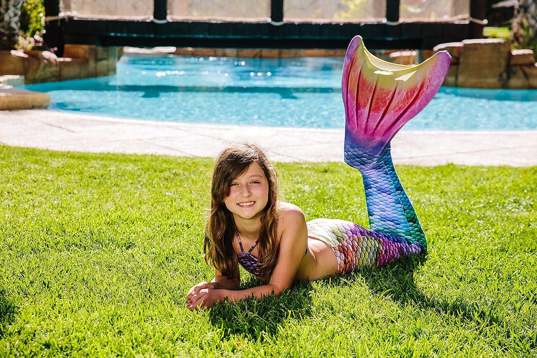Conjunto Sirena Kuaki 3 Pcs Modelo Rainbow
