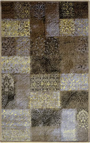 Blue Nile Mills Digitally Printed, Low Maintenance, Affordable and Fashionable, Non-Slip Hadley Area Rug, 8 x10