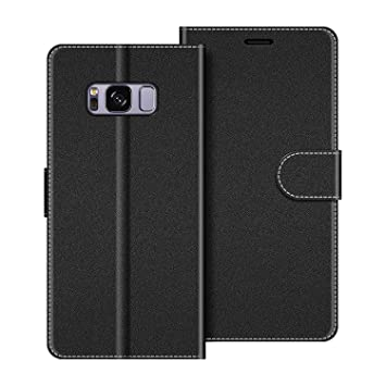 COODIO Funda Samsung Galaxy S8 Plus con Tapa, Funda Movil Samsung S8 Plus, Funda Libro Galaxy S8 Plus Carcasa Magnético Funda para Samsung Galaxy S8 ...