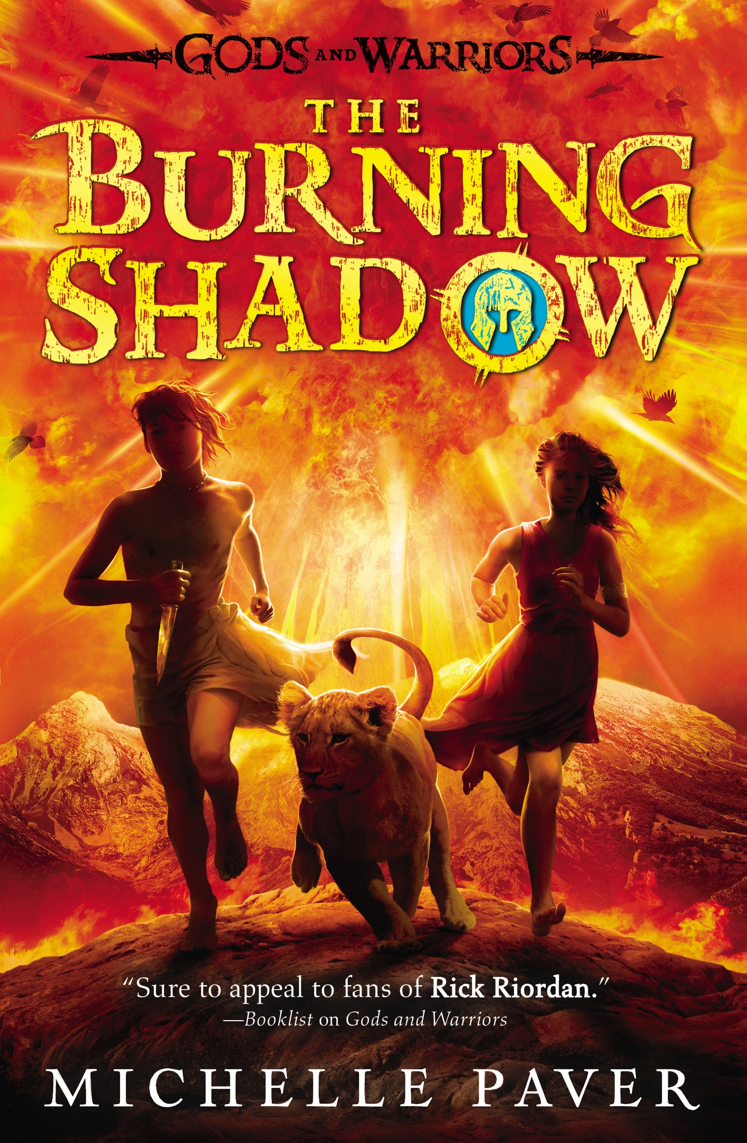 The Burning Shadow (gods And Warriors): Michelle Paver: 9780142422854:  Amazon: Books