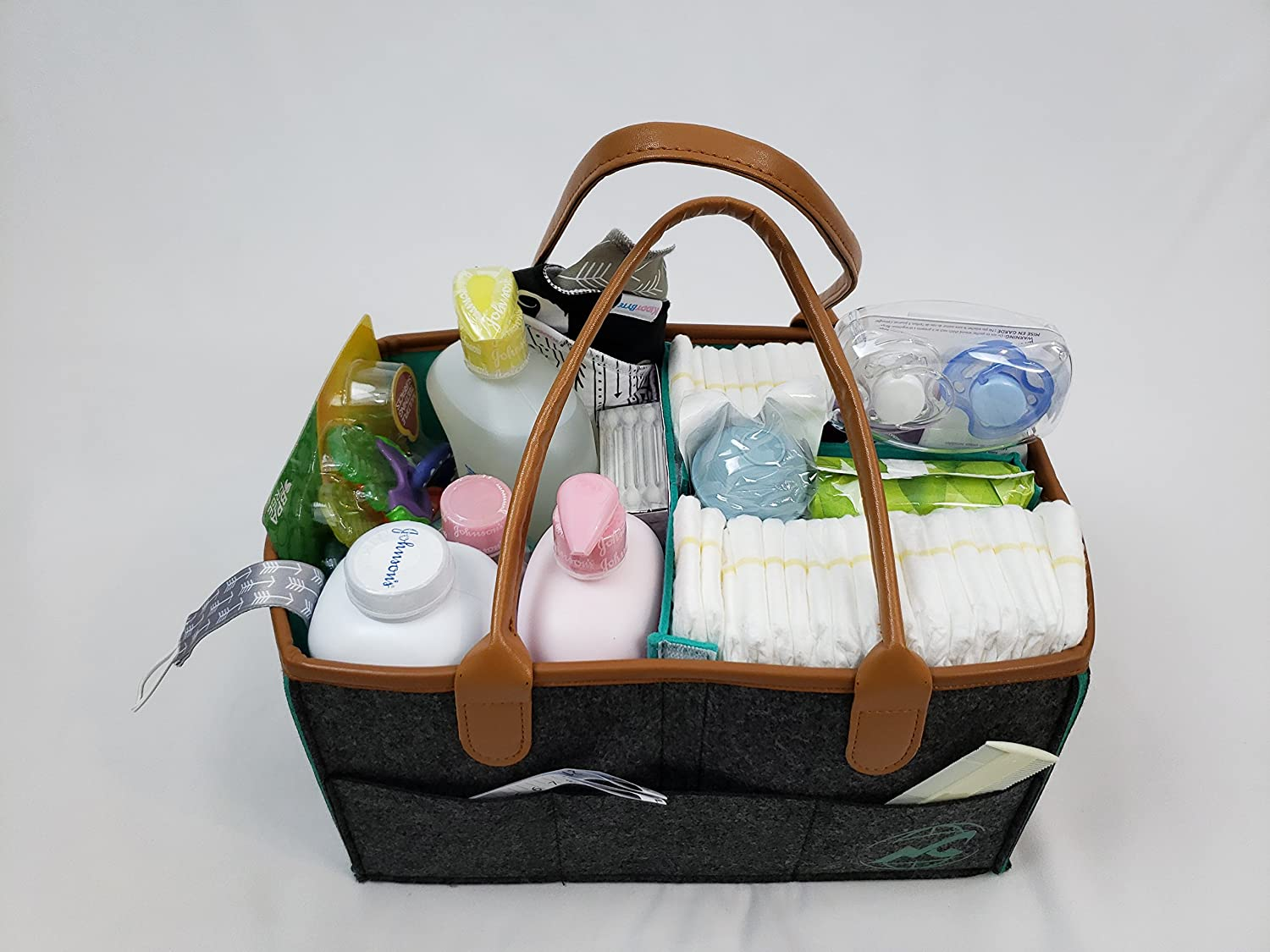 Amazon Com Baby Shower Gift Basket Unisex Perfect For A New