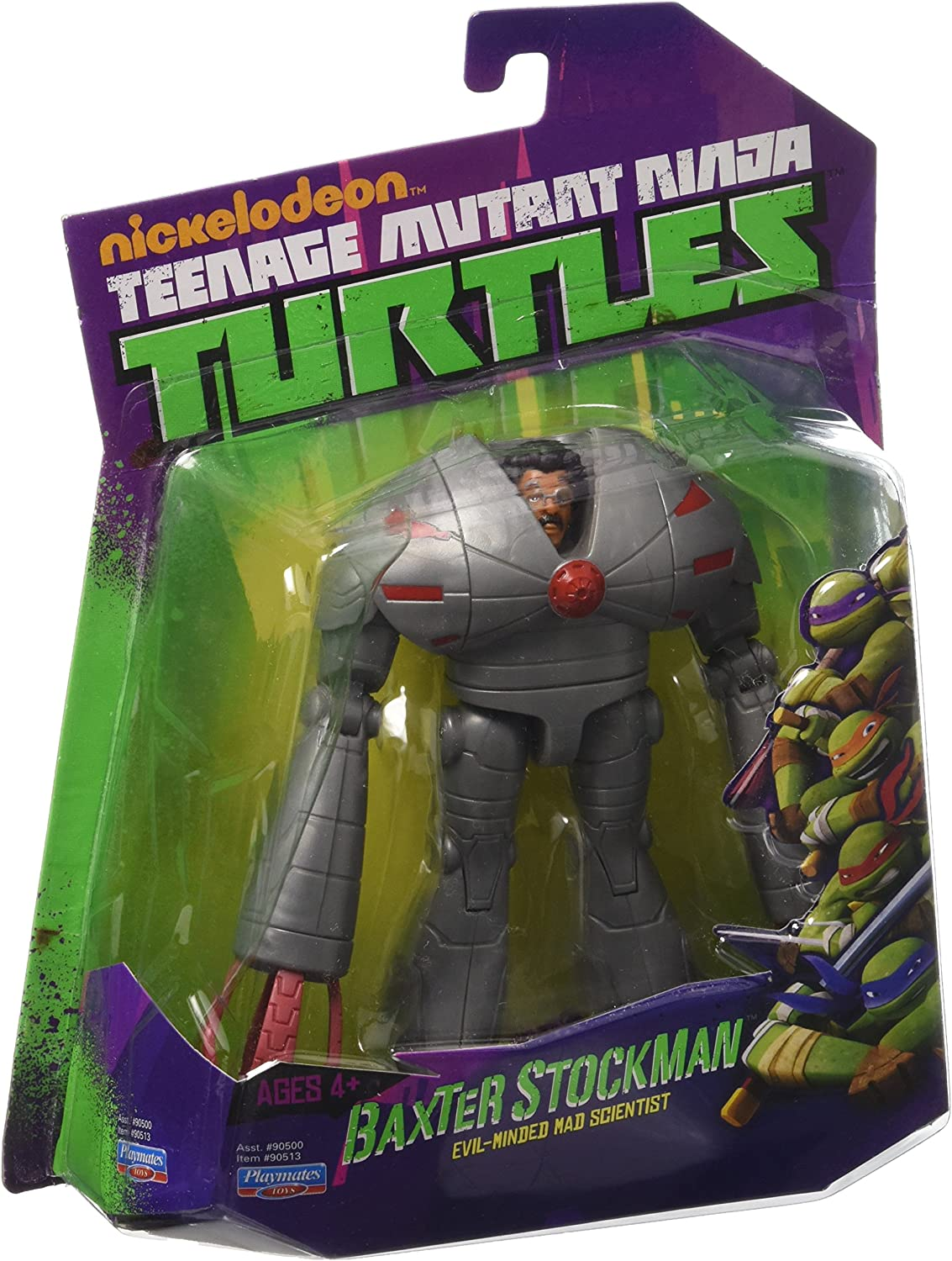 Amazon Com Teenage Mutant Ninja Turtles Baxter Stockman Evil