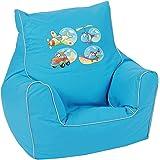 knorr-baby 450306 Kinder SitzsackPirat blau
