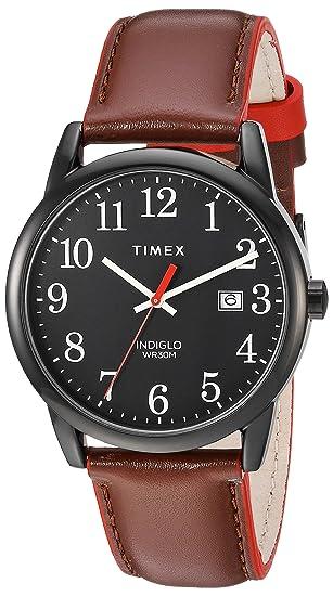 Timex - Reloj de pulsera para hombre, fácil de leer, 40 aniversario: Timex: Amazon.es: Relojes