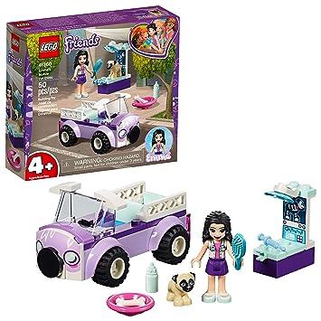 LEGO Friends 4+ Emma's Mobile Vet Clinic 41360 Building Kit, 2019 (50  Pieces)