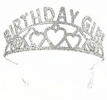 Forum Novelties Glitter Tiara Birthday Girl