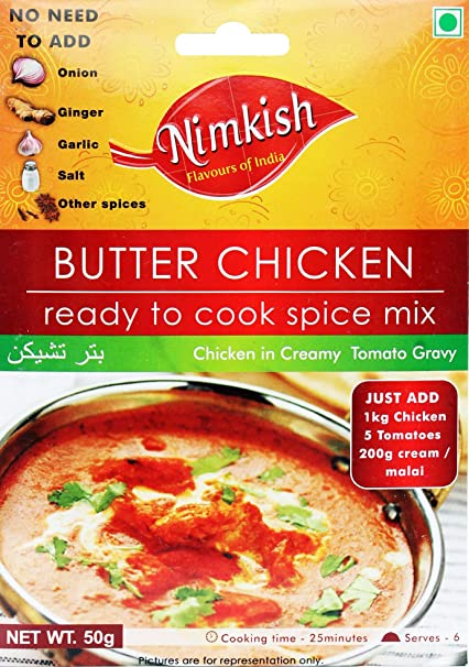 Nimkish Butter Chicken Masala, 50g