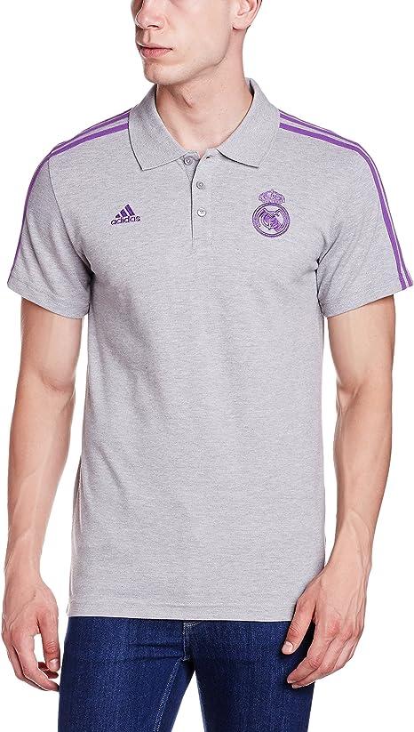 adidas 3s Polo Real Madrid FC, Hombre: Amazon.es: Ropa y ...