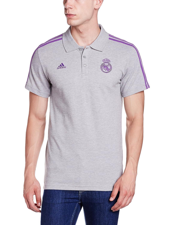 adidas 3s Polo Real Madrid FC, Hombre: Amazon.es: Ropa y accesorios