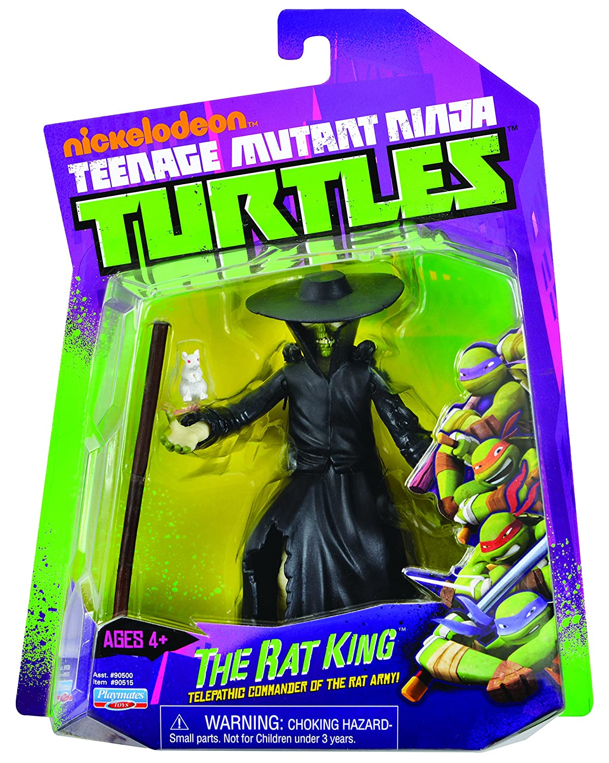Toys 90515 Teenage Mutant Ninja Turtles Rat King Action Figure Playmates