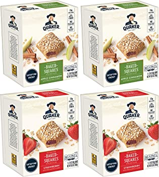 4-Pack Quaker Breakfast Squares Variety Pack (5-Count Each)