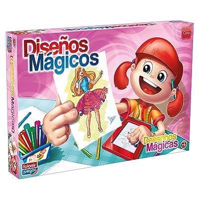 Falomir- Diseños Mágicos, Juego de Mesa, Manualidades (646482): Juguetes y juegos