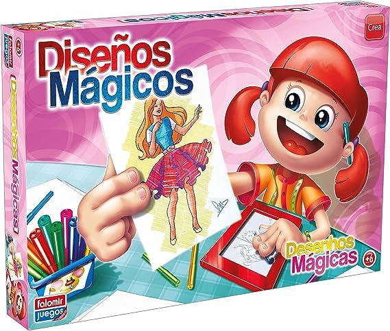 Falomir Diseños Mágicos, Juego de Mesa, Manualidades (646482) , color/modelo surtido: Amazon.es: Juguetes y juegos