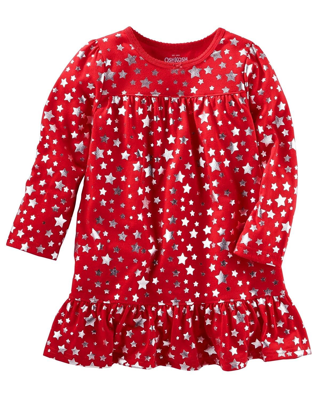 OshKosh BGosh Girls Long Sleeve Sleep Gown