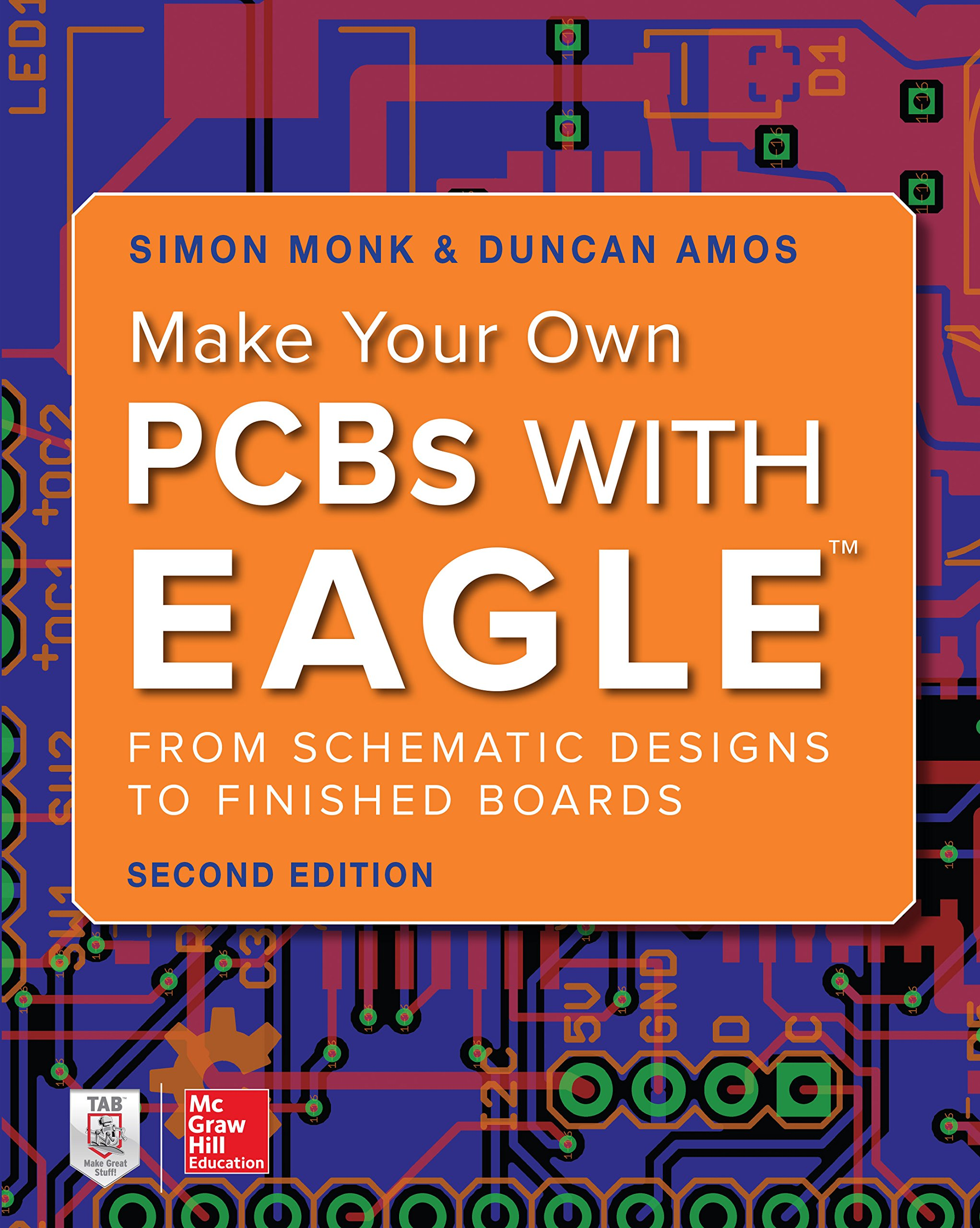 Make Your Own Pcbs With Eagle From Schematic Designs To Finished Boards Monk Simon Amos Duncan Ebook Amazon Com