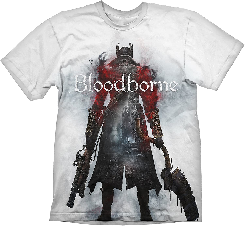 Meroncourt Bloodborne Hunter Street T-Shirt Uomo