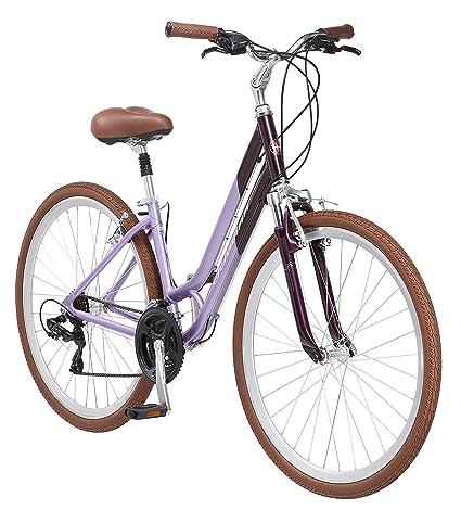 Schwinn Capitol Womenu0027s Hybrid Bicycle Lavender 700c Wheel, 16u0026quot;/Small  Frame Size