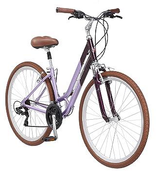 da1ddb92f0b Amazon.com   Schwinn Capitol Women s Hybrid Bicycle Lavender 700c ...
