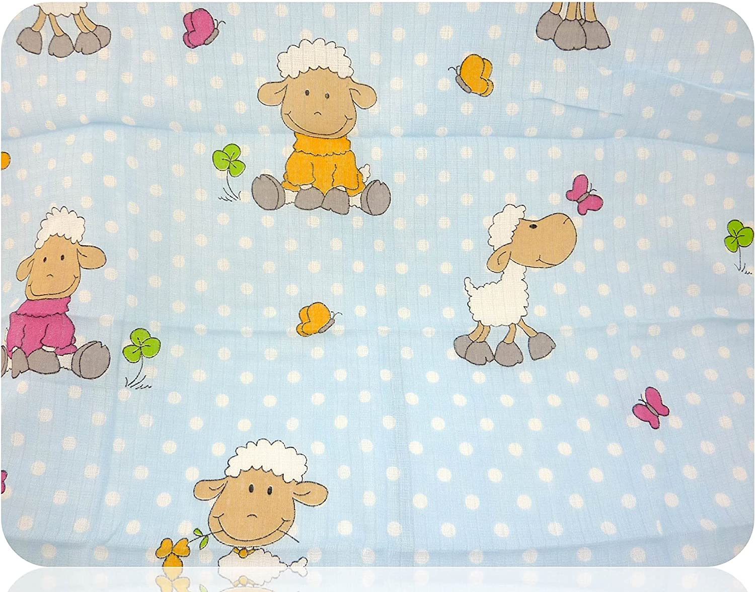 cotton 5 pack of colourful burping cloths cloth nappies Printed muslin cloths