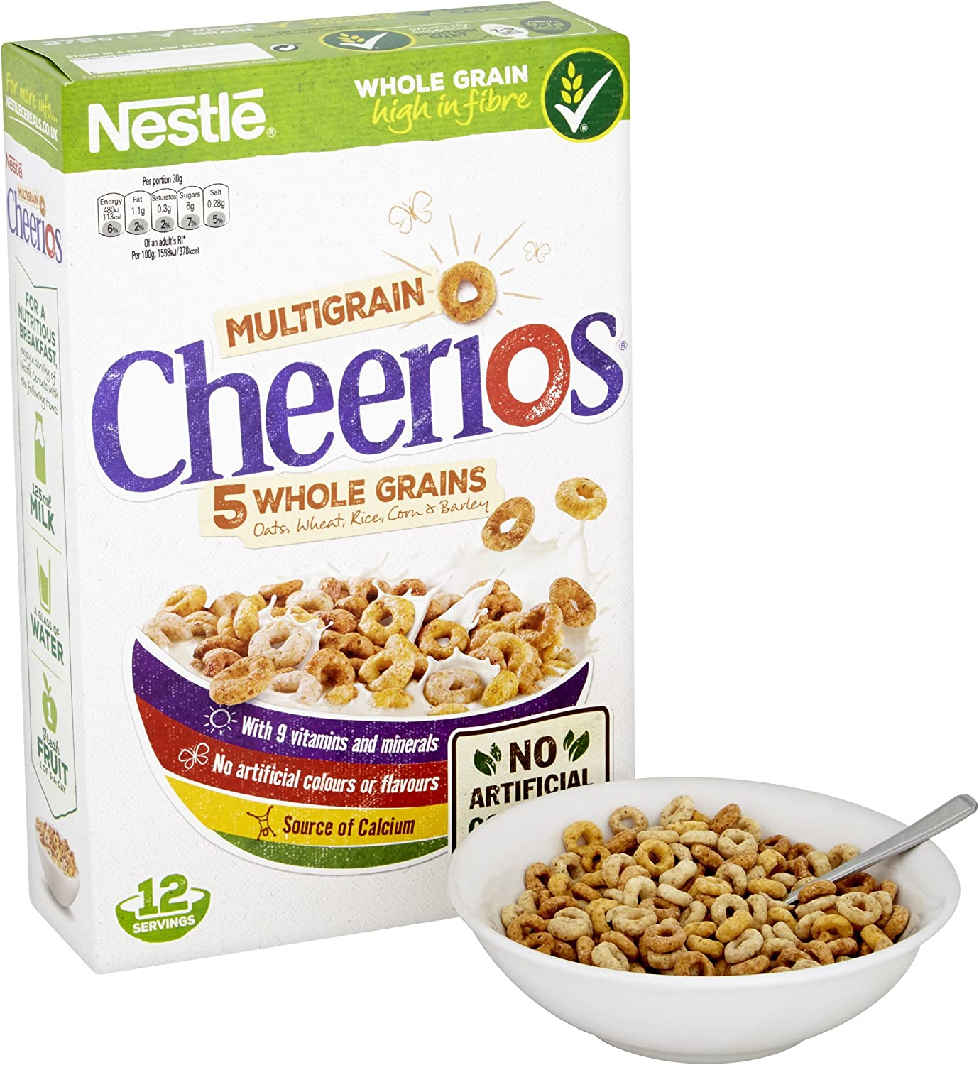 Nestle Cheerios 375g: Amazon.es: Alimentación y bebidas