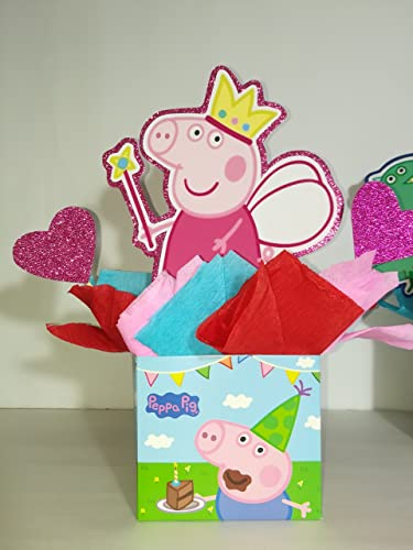 Amazon 4 PEPPA PIG PINK CENTERPIECES PARTY