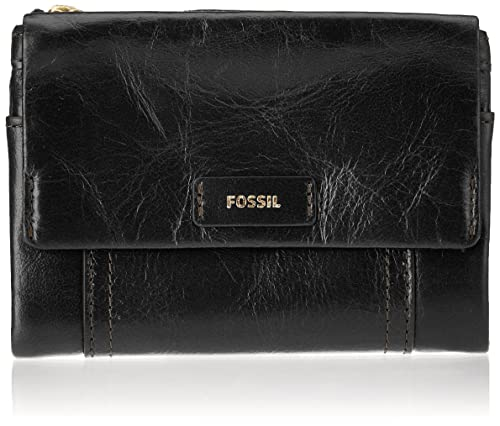 Fossil geldbörse ellis schwarz damen taschen geldbörsen