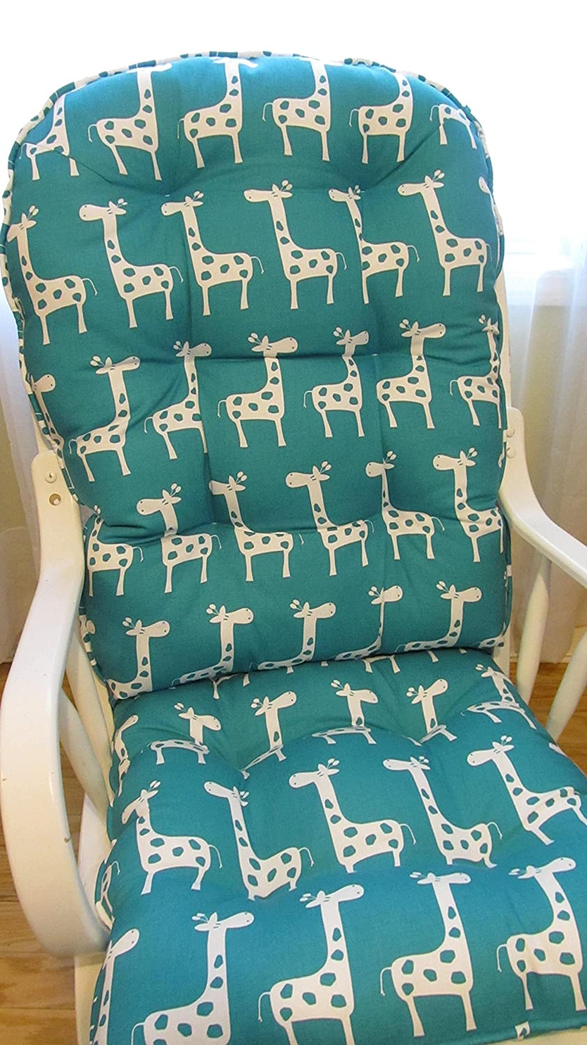 Fabulous Amazon Com Cushion Set For Nursery Glider Or Rocking Chair Bralicious Painted Fabric Chair Ideas Braliciousco