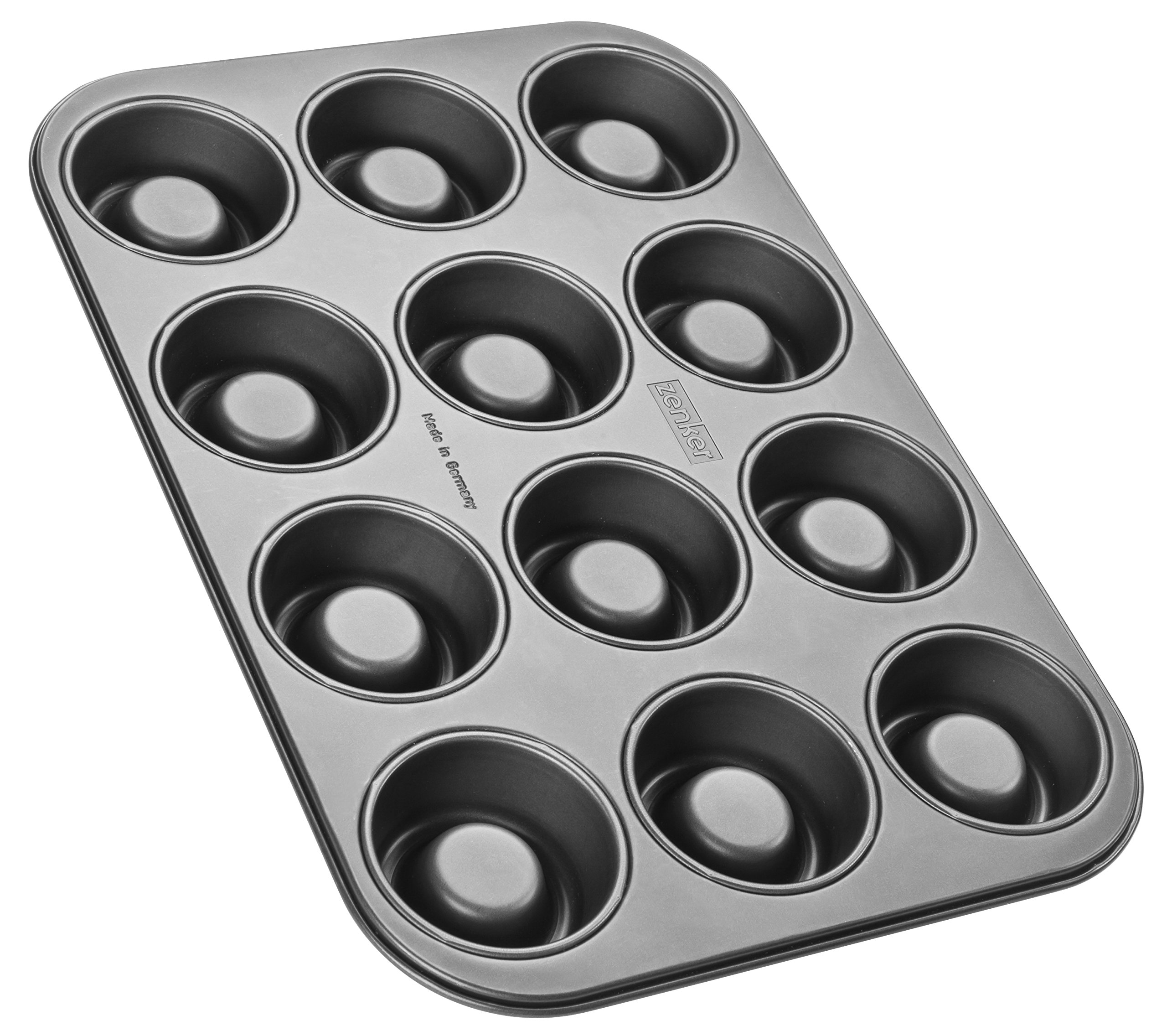 Zenker 12 Count Nonstick Carbon Steel Shortcake Pan