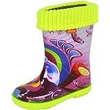 Girls Wellington Boots Multicolour