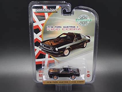 Amazon Greenlight 1978 Ford Mustang Ii King Cobra Limited