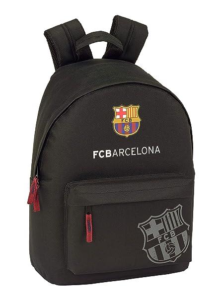 FC Barcelona Black Oficial Mochila Juvenil Para Portátil 14,1 ...
