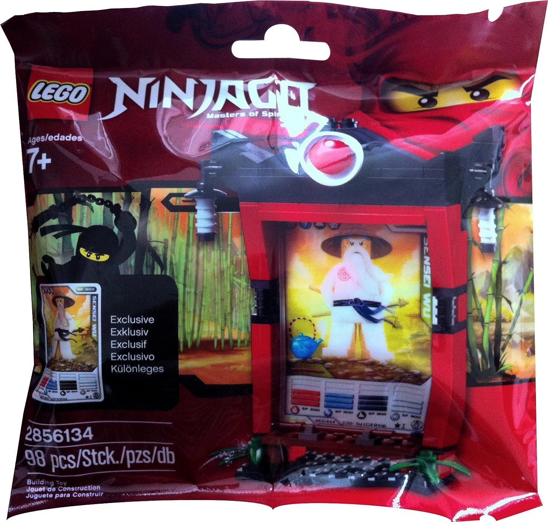 LEGO Ninjago Card Shrine Item # 2856134 Scrinium Shrine Sensei Wu Bagged