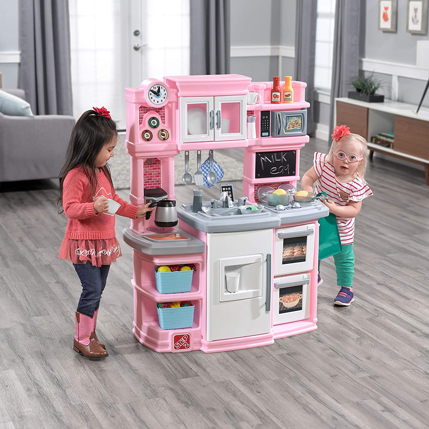 Step2 Great Gourmet Kids Play Kitchen, Pink