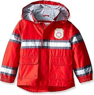 ee516df6dbf7 Amazon.com  Kidorable Red Fireman All-Weather Raincoat for Boys w ...