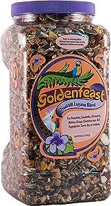 Goldenfeast Hookbill Legume Blend 64Oz Bird Food