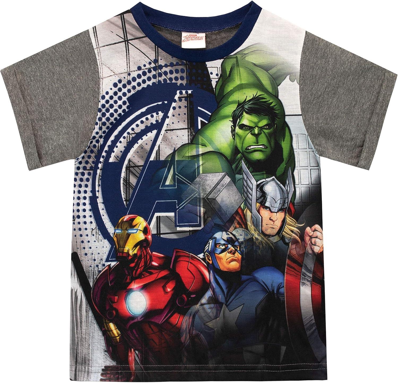 Marvel Pigiama a Maniche Corte per Ragazzi Avengers