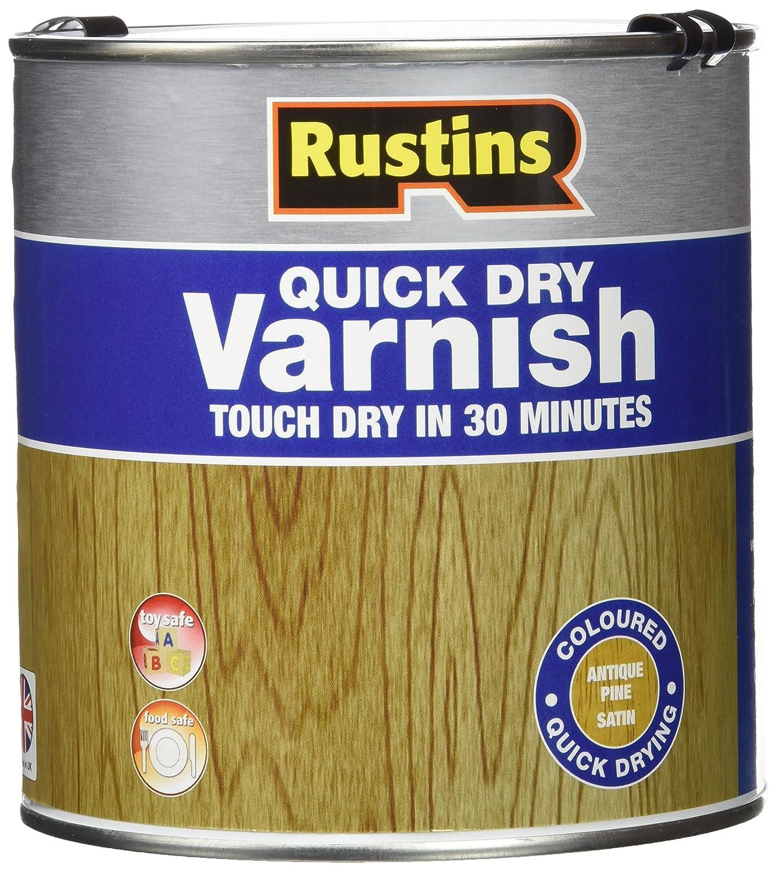 Rustins AVSC2500 Vernis à séchage rapide - Clair Satin - 2.5L