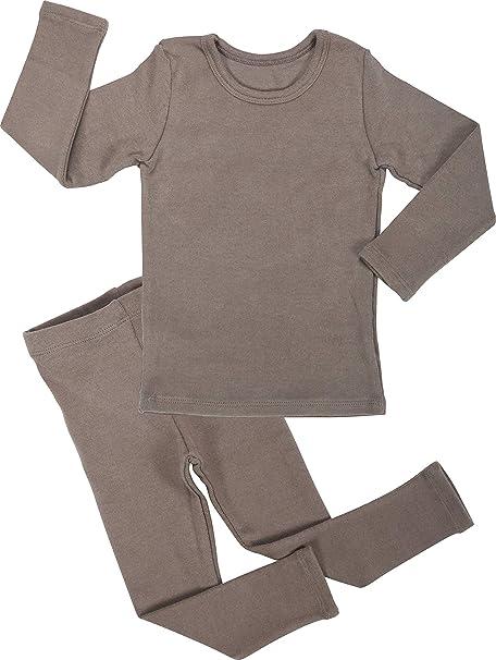 Amazon.com: AVAUMA - Pijama de algodón para niños y niñas ...