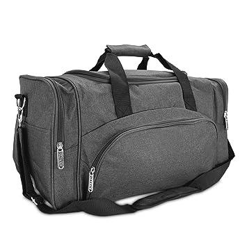 Amazon.com: Bolsa de viaje o para gimnasio DALIX, negro, L ...
