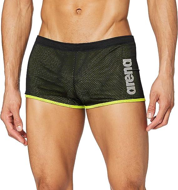 Arena Mens Square Cut Drag Short Training Swimsuit