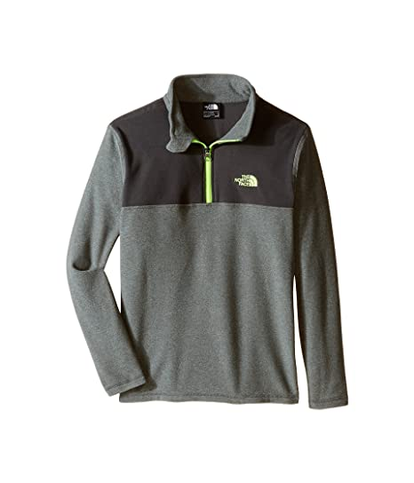 c51759246 Image Unavailable. Image not available for. Color: The North Face Boys  Glacier 1/4 Zip ...