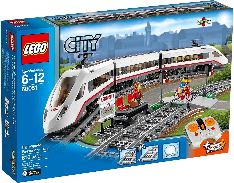 60051 CITY® Treno Passeggeri ad Alta Alta Velocità