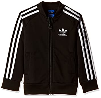 lbvag Adidas Originals Superstar Sweatshirt, Men, black, 7 Jahre / 122