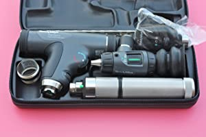 Welch Allyn Enhanced Diagnostic Set feat. Coaxial Ophthalmoscope, PanOptic Ophthalmoscope, MacroView Otoscope and Nickel Cadmium Rechargeable Handle
